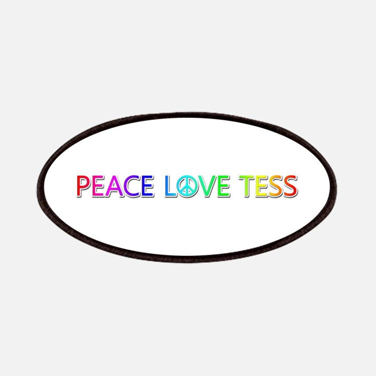 Peace Love Tess Patch