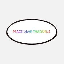 Peace Love Thaddeus Patch