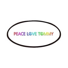 Peace Love Tommy Patch