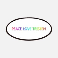 Peace Love Tristen Patch