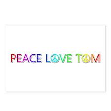 Peace Love Tom Postcards 8 Pack