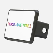 Peace Love Tyrell Hitch Cover