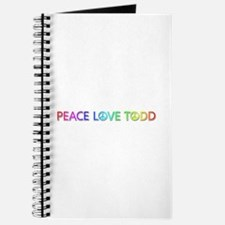 Peace Love Todd Journal