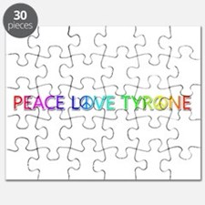 Peace Love Tyrone Puzzle