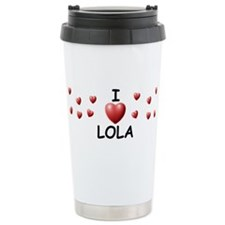 Cute Lola Travel Mug