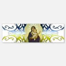 Holy Mary (no text) Bumper Bumper Bumper Sticker