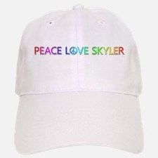 Peace Love Skyler Baseball Baseball Baseball Cap