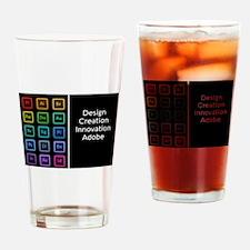 Unique Adobe Drinking Glass