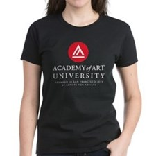AAU stacked logo - white T-Shirt