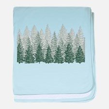 FOREST baby blanket
