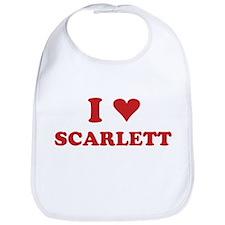 I LOVE SCARLETT Bib