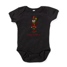 Cute Toy soldier christmas Baby Bodysuit
