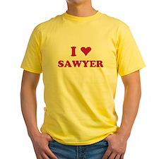 I LOVE SAWYER T