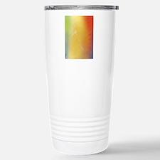 Warm Abstract Art Travel Mug