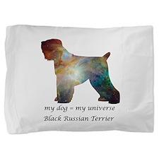 BLACK RUSSIAN TERRIER Pillow Sham