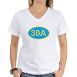 30a Womens V-Neck T-shirts