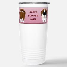 Cute Saint bernard cartoon Travel Mug