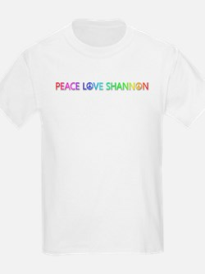 Peace Love Shannon T-Shirt