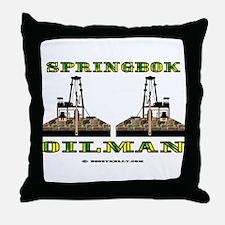 Springbok Oilman Throw Pillow