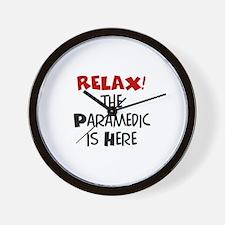 paramedic here Wall Clock
