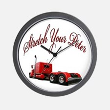 Stretch Your Peter Wall Clock