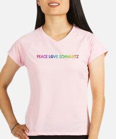 Peace Love Schwartz Performance Dry T-Shirt