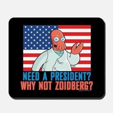 Futurama Why Not Zoidberg Mousepad