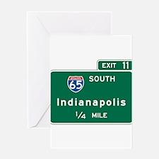Cute Freeway Greeting Card