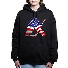 Cute U.s.a Women's Hooded Sweatshirt