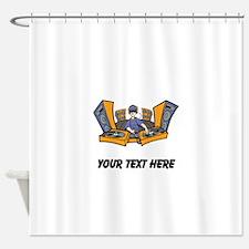 DJ (Custom) Shower Curtain