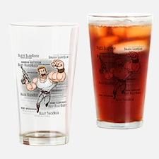 Funny Mst3k Drinking Glass