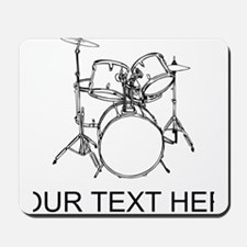 Drums (Custom) Mousepad