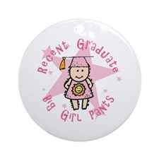 Big Girl Pants Ornament (Round)