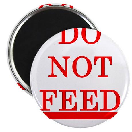 "DO NOT FEED 2.25"" Magnet (10 pack)"