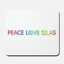 Peace Love Silas Mousepad