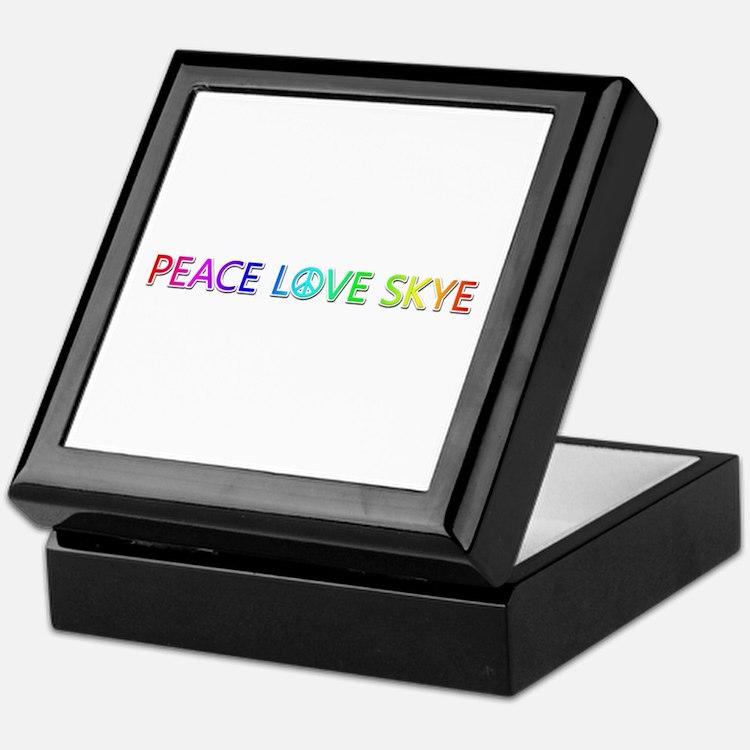 Peace Love Skye Keepsake Box