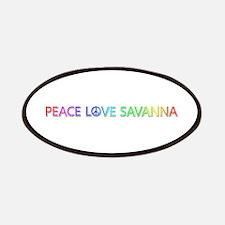 Peace Love Savanna Patch