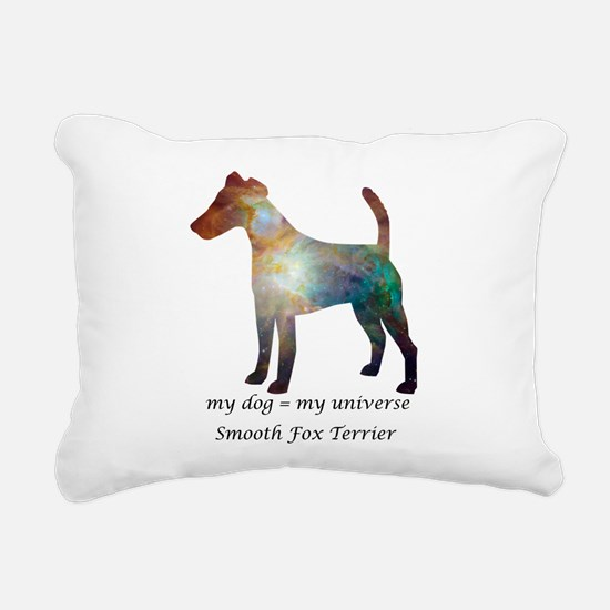 SMOOTH FOX TERRIER Rectangular Canvas Pillow