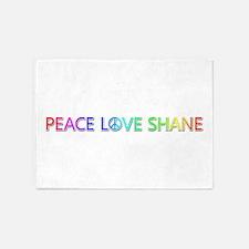 Peace Love Shane 5'x7' Area Rug