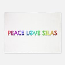 Peace Love Silas 5'x7' Area Rug