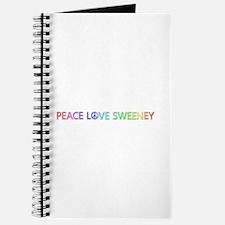Peace Love Sweeney Journal