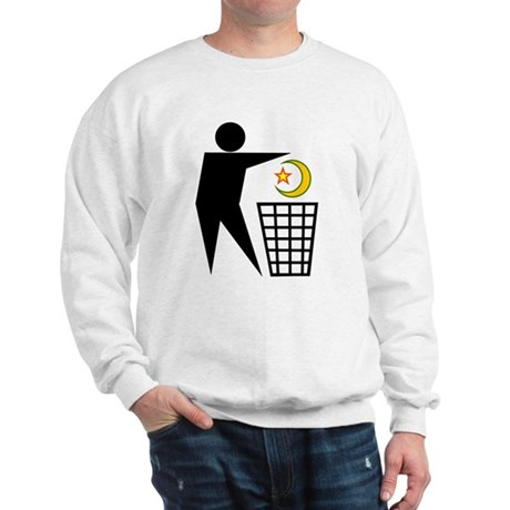 Trash Religion (Muslim Version) Sweatshirt