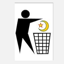Trash Religion (Muslim Version) Postcards (Package