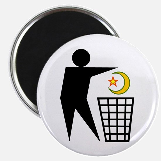 Trash Religion (Muslim Version) Magnet