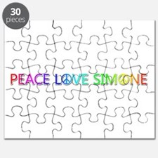 Peace Love Simone Puzzle