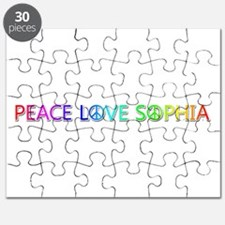 Peace Love Sophia Puzzle