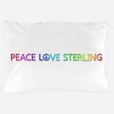 Peace Love Sterling Pillow Case