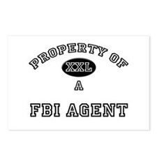 Property of a Fbi Agent Postcards (Package of 8)