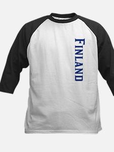 Finland Kids Baseball Jersey