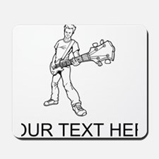Bass Guitar Player (Custom) Mousepad